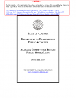 AL Competitive Bid and Public Works Laws