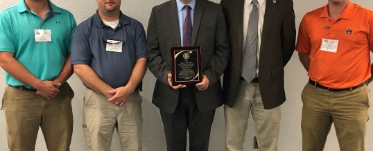 Elmore County Awarded John F. Courson Excellence in Engineering Award