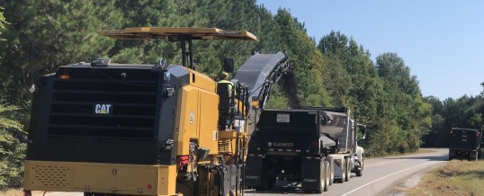 Elmore County- Milling and Resurfacing on Coosada Parkway