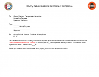 03 Certificate of Compliance