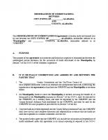 07 Municipal Memorandum of Understanding