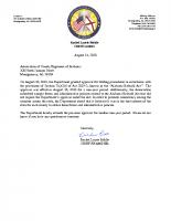 00 Bid Procedures Approval Letter